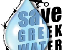 Save Greek Water logo