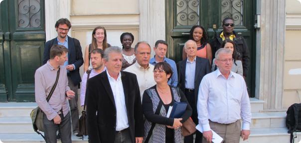 PSI-EPSU communicators meet with ADEDY officials